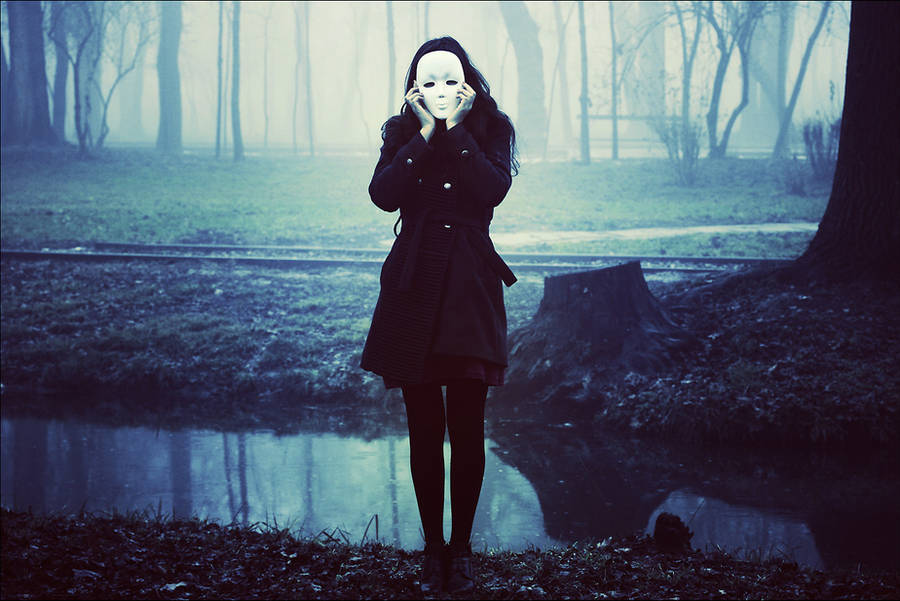 I wore my soul as face by iNeedChemicalX