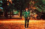 A choir of autumn leaves