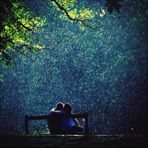 Love beneath the showery clouds by *iNeedChemicalX