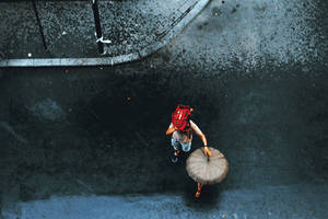 The walking umbrella by iNeedChemicalX