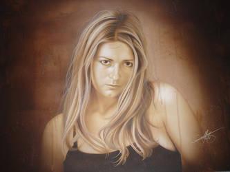 portrait by DavidGeoffroy