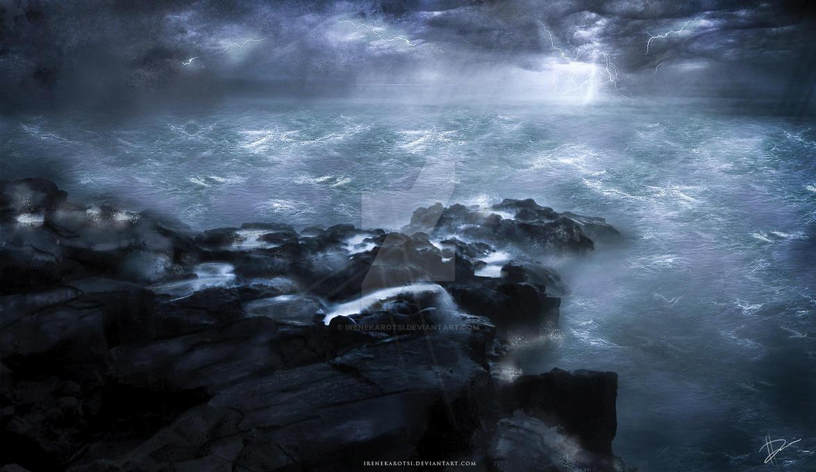 Stormy Horizon by IreneKarotsi