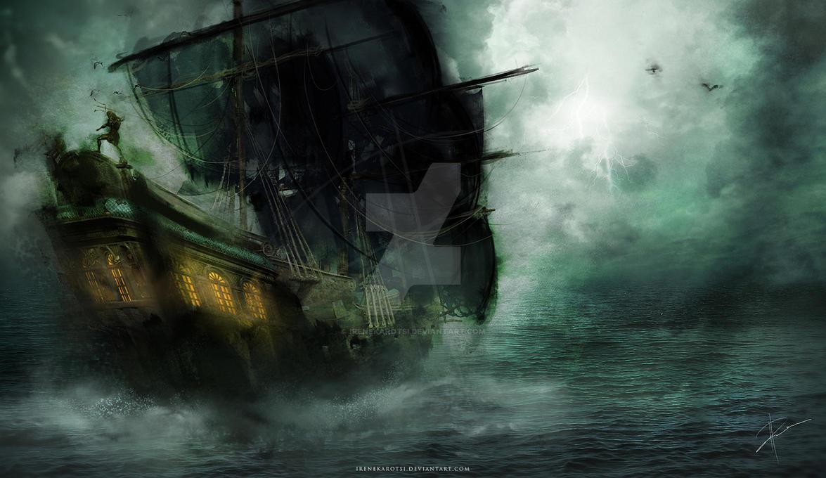 Ghost Ship by IreneKarotsi