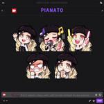 Commission (Pianato) Emotes
