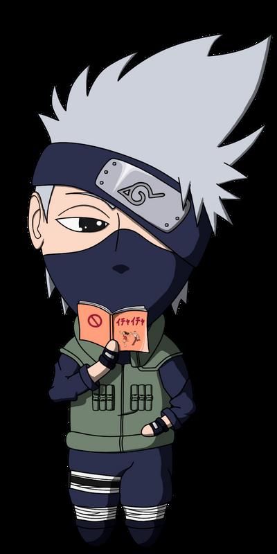 Naruto - Kakashi - Chibi by lilomat on DeviantArt
