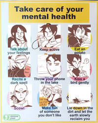 [DB / TYTANIA] take care of your mental health!