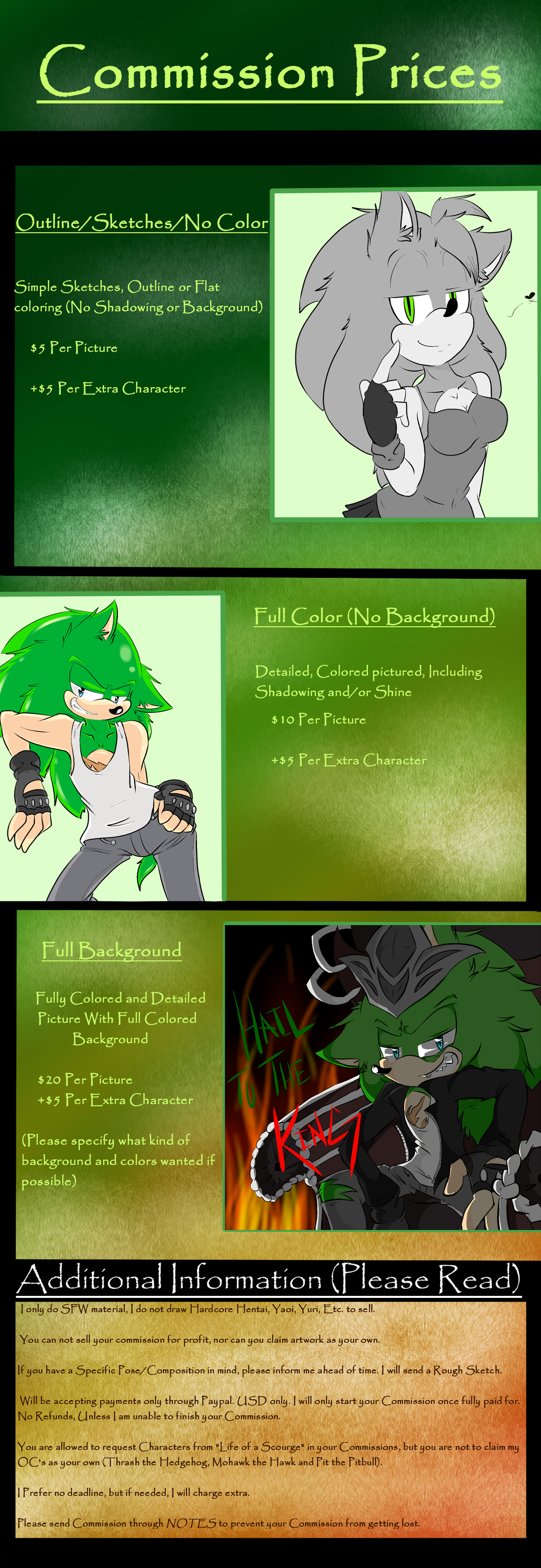 Commission Prices[[Open]] (PLEASE READ EVERYTHING) by LoaS-ScourgeTH