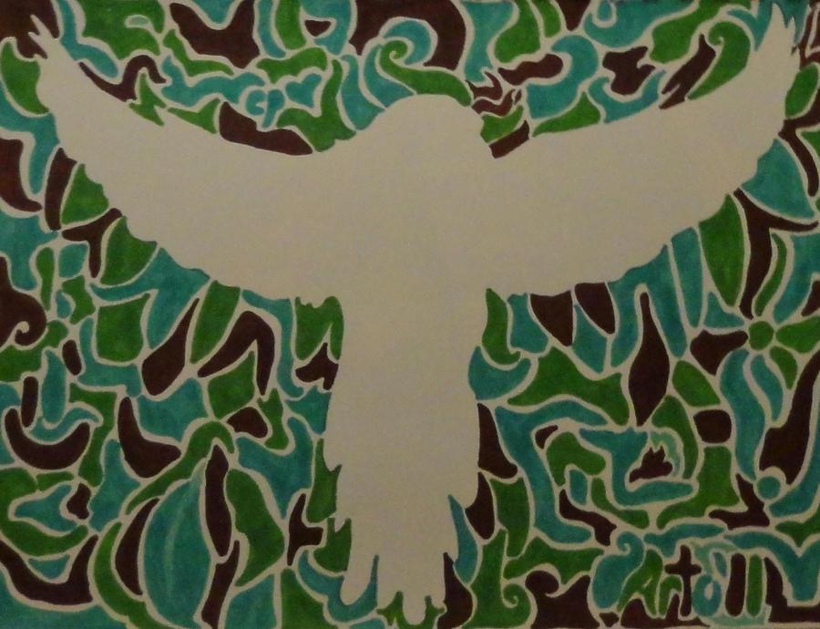 Implied Line Art Quizlet : Implied lines parrot by skurdy on deviantart