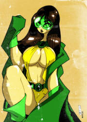 PhantomLady in colour by TheBoo