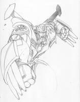 HotRod Sketch by TheBoo