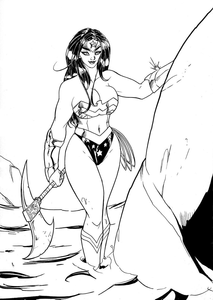Wonderful WonderWoman by TheBoo