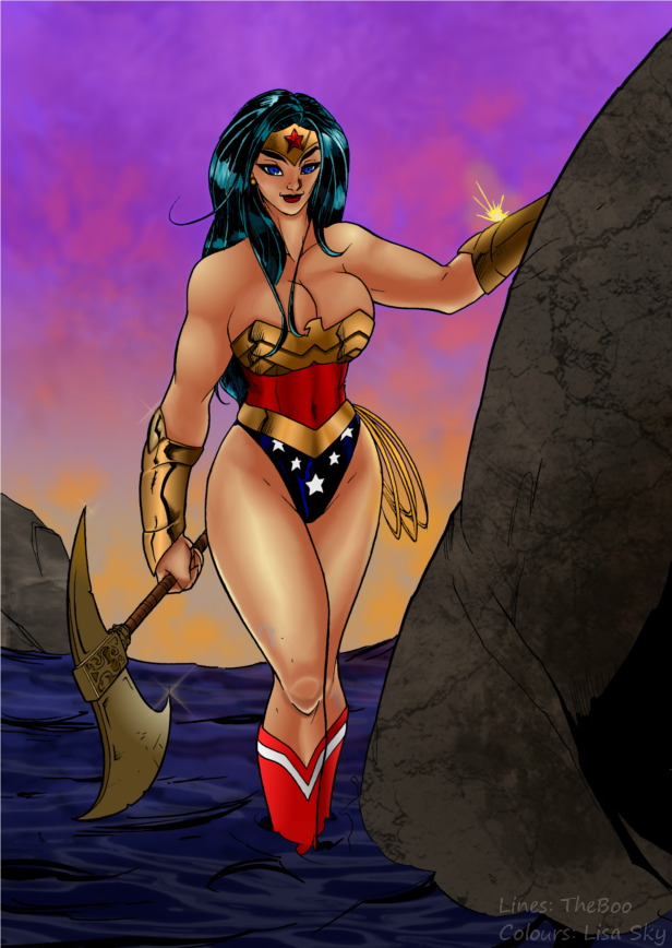 Wonderful Wonderwoman 2 by TheBoo