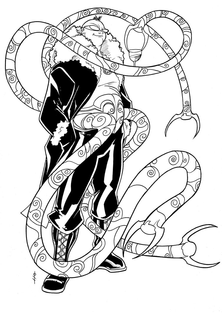Uncategorized Doc Ock Coloring Pages uk doctor octopus by theboo on deviantart theboo