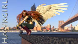 She's Watching you like a hawk. by flyashy