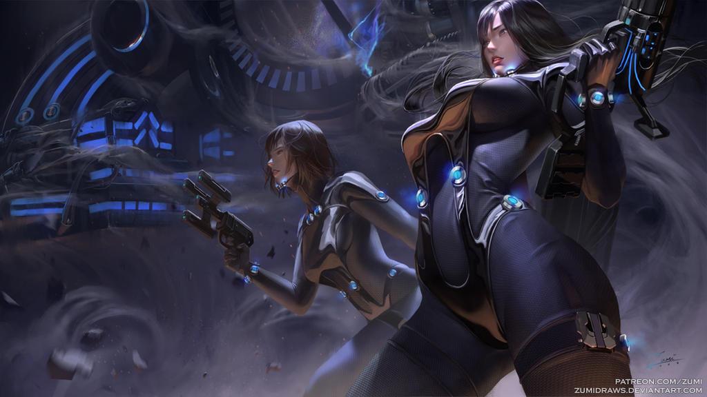 Gantz: Reika and Anzu