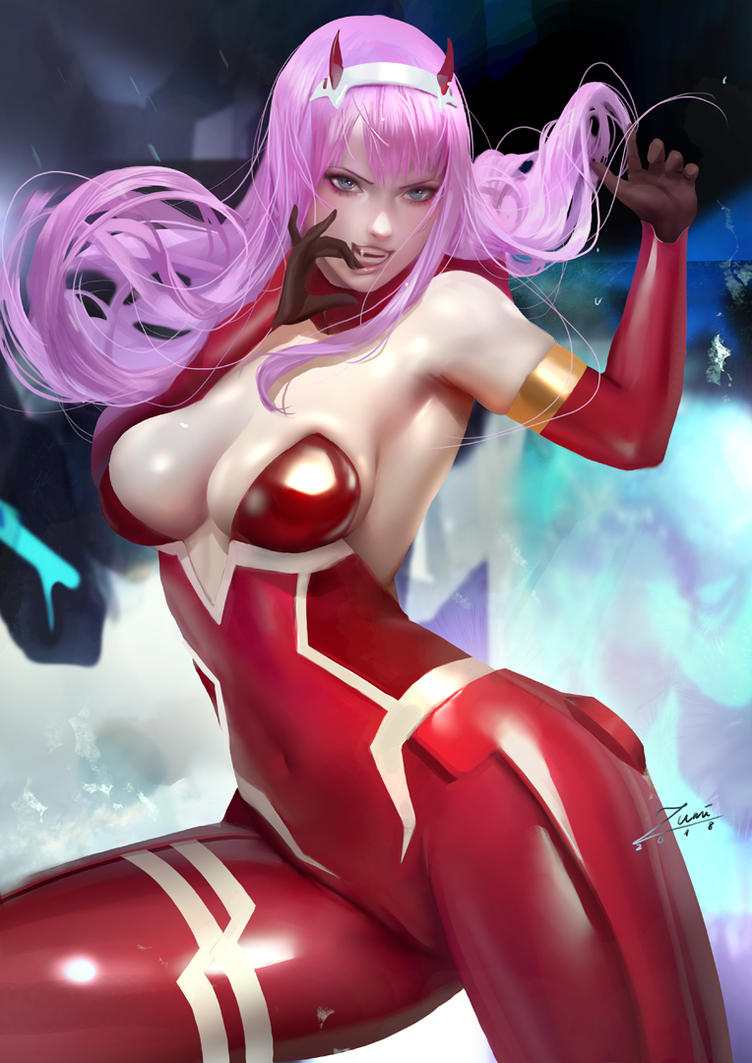Zero Two by zumidraws