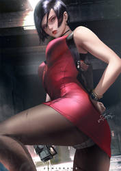 Ada Wong by zumidraws