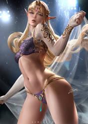 Zelda by zumidraws