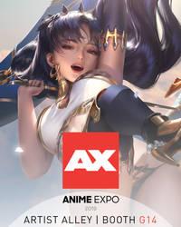Anime Expo 2019 by zumidraws