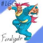 Pokemon Gijinka Project 160 Feraligatr