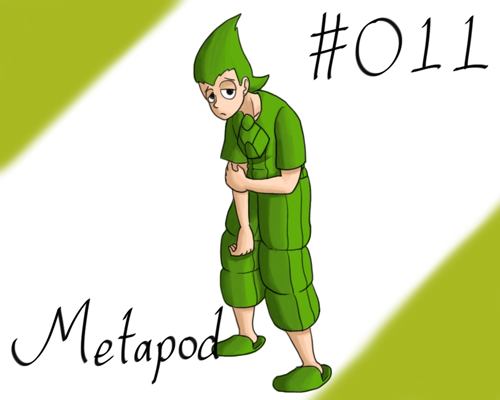 Pokemon Gijinka Project 011 Metapod by JinchuurikiHunter ...