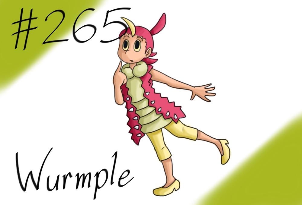Pokemon gijinka project 265 wurmple by jinchuurikihunter on deviantart - Wurmple pokedex ...