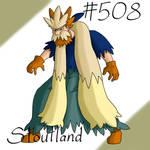 Pokemon Gijinka Project 508 Stoutland