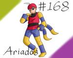 Pokemon Gijinka Project 168 Ariados