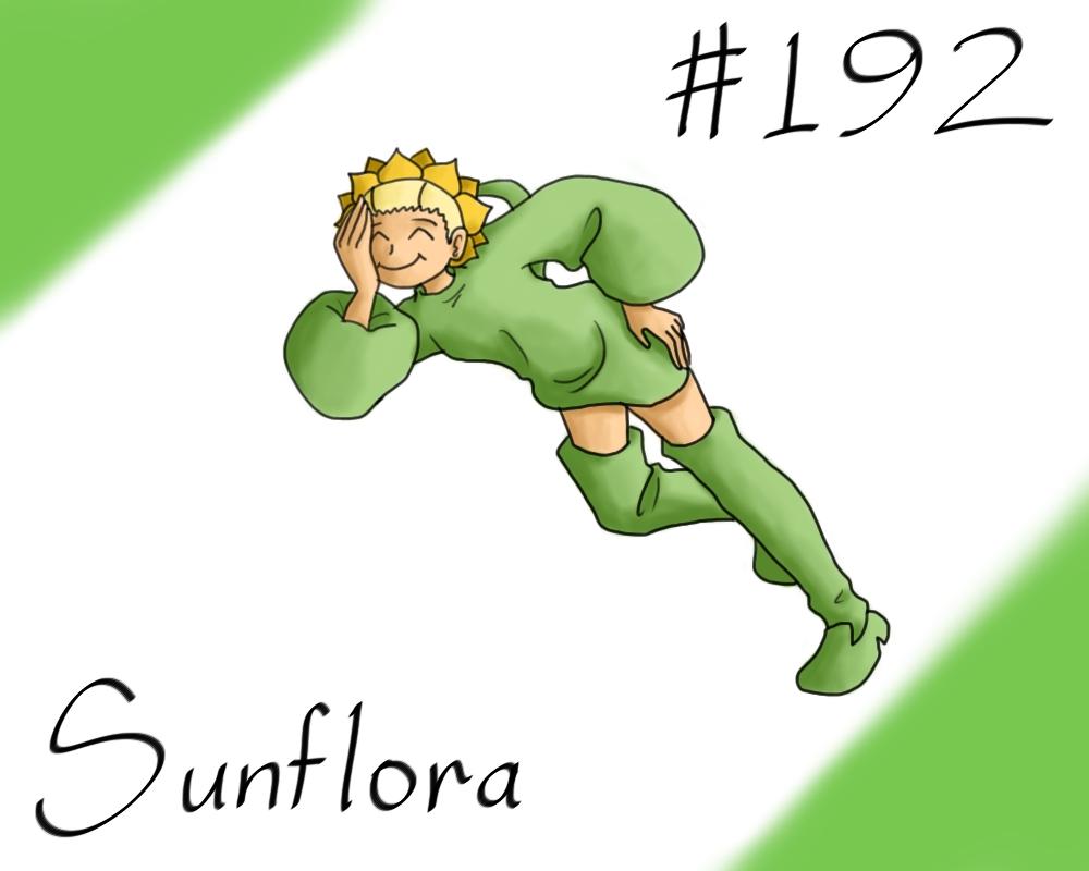 Pokemon Gijinka Project 192 Sunflora By Jinchuurikihunter On Deviantart