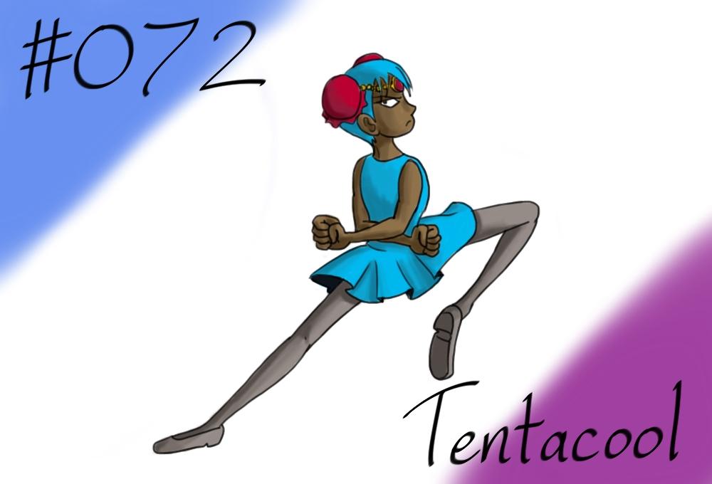 Pokemon Gijinka Project 072 Tentacool 579085150
