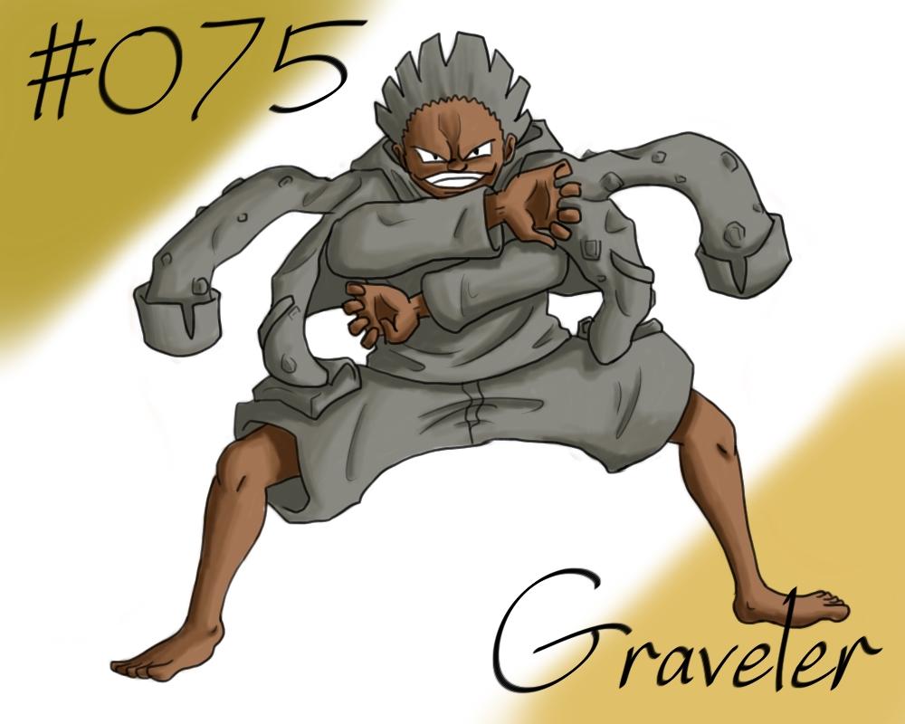 New Pokemon Gijinka Project 075 Graveler 586201123