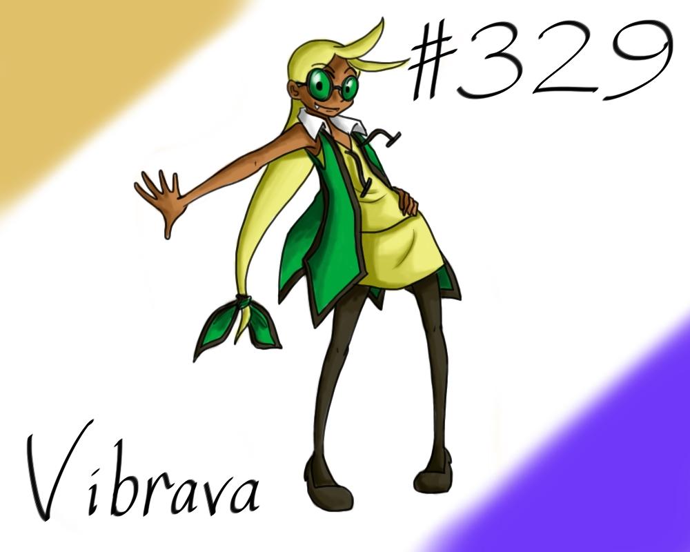 Pokemon Gijinka Project 329 Vibrava by JinchuurikiHunter ...