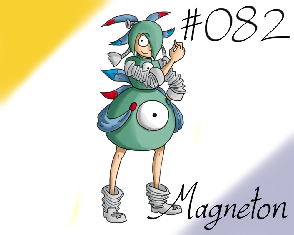 New Pokemon Gijinka Project 082 Magneton 629339877