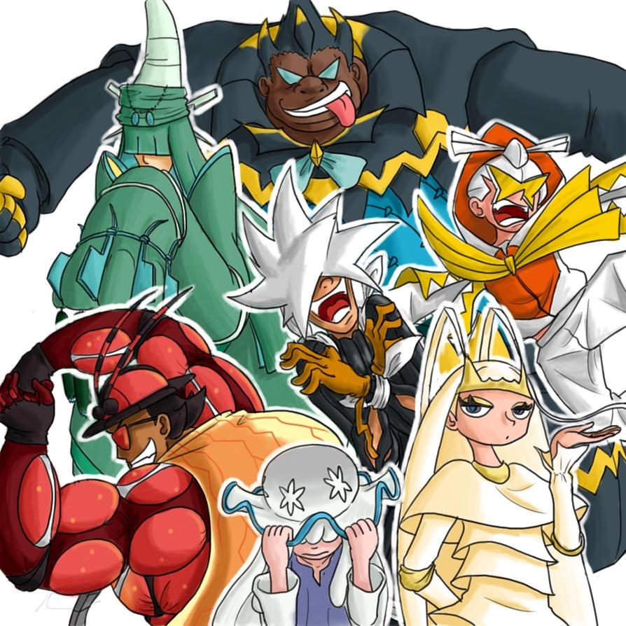 Ultra Beast Gijinkas by JinchuurikiHunter