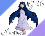 Pokemon Gijinka Project 226 Mantine