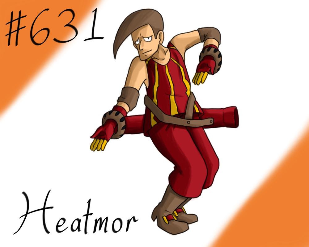 Pokemon Gijinka Project 631 Heatmor by JinchuurikiHunter on DeviantArt for Heatmor Pokemon  585eri