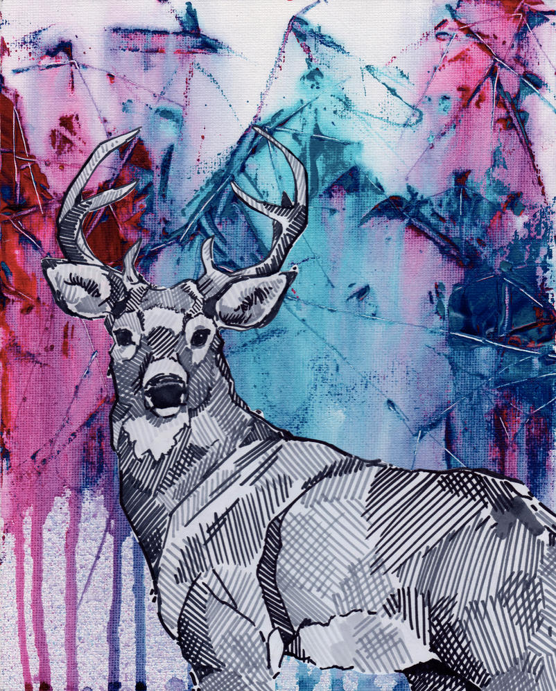 Oh my 'deer' by Marievarp