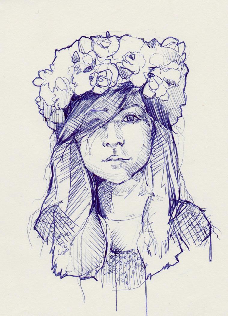 Flower Girl by Marievarp