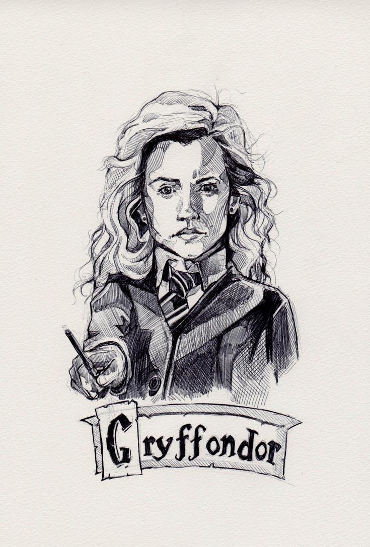 Hermione Granger by Marievarp