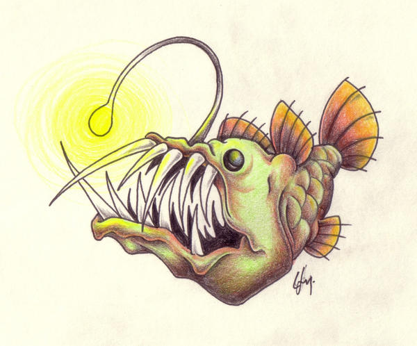 A bad fish 2 by rathawk on deviantart for Is fish bad for you