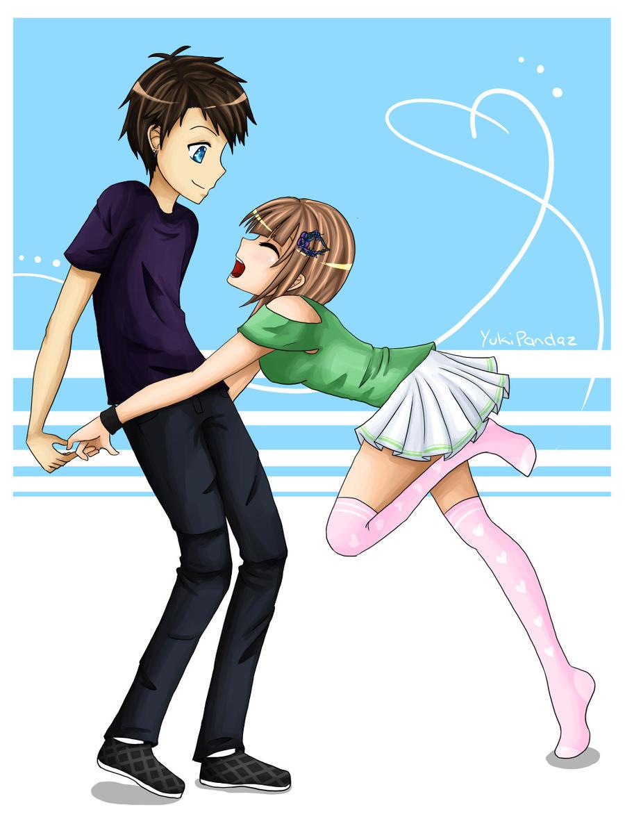 Playful Love by YukiPandaz