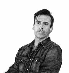 Sketchbook: Jon Hamm - actor