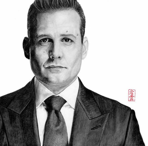 Harvey Specter - Gabriel Macht - Suits
