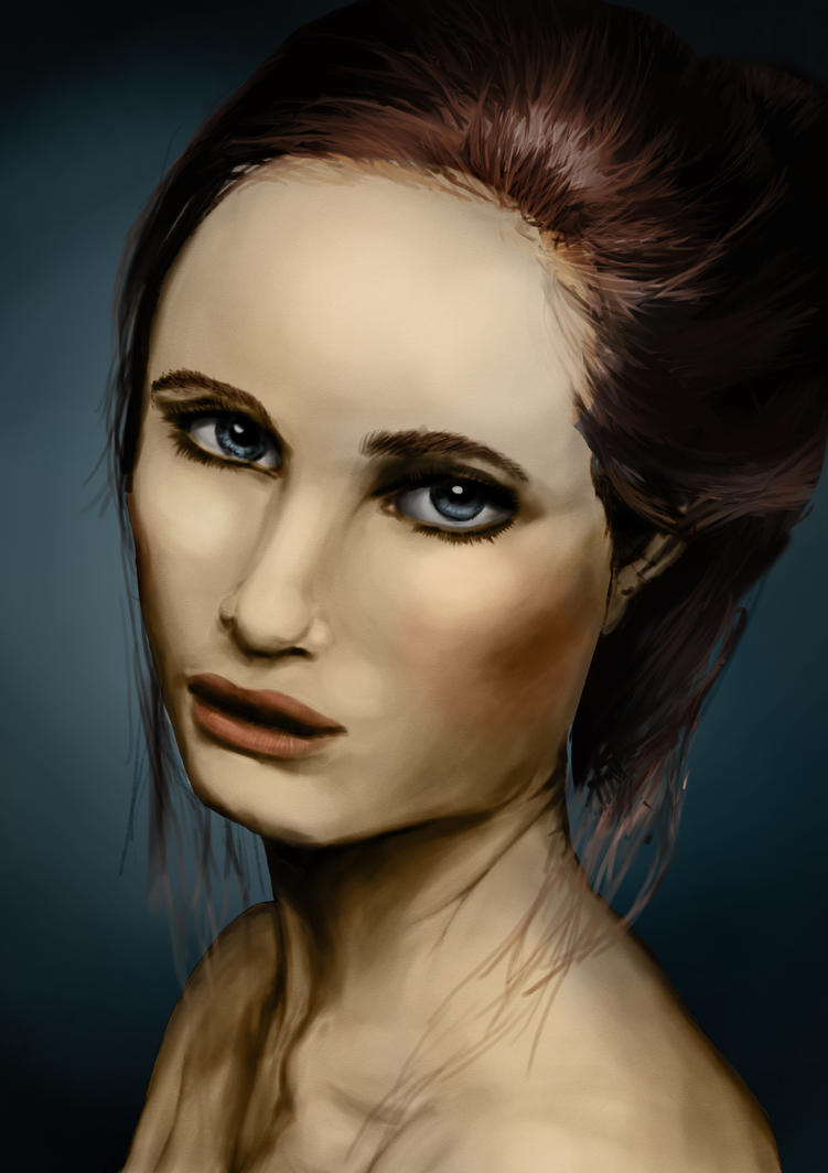 Color Portrait Practice by YouriVDE