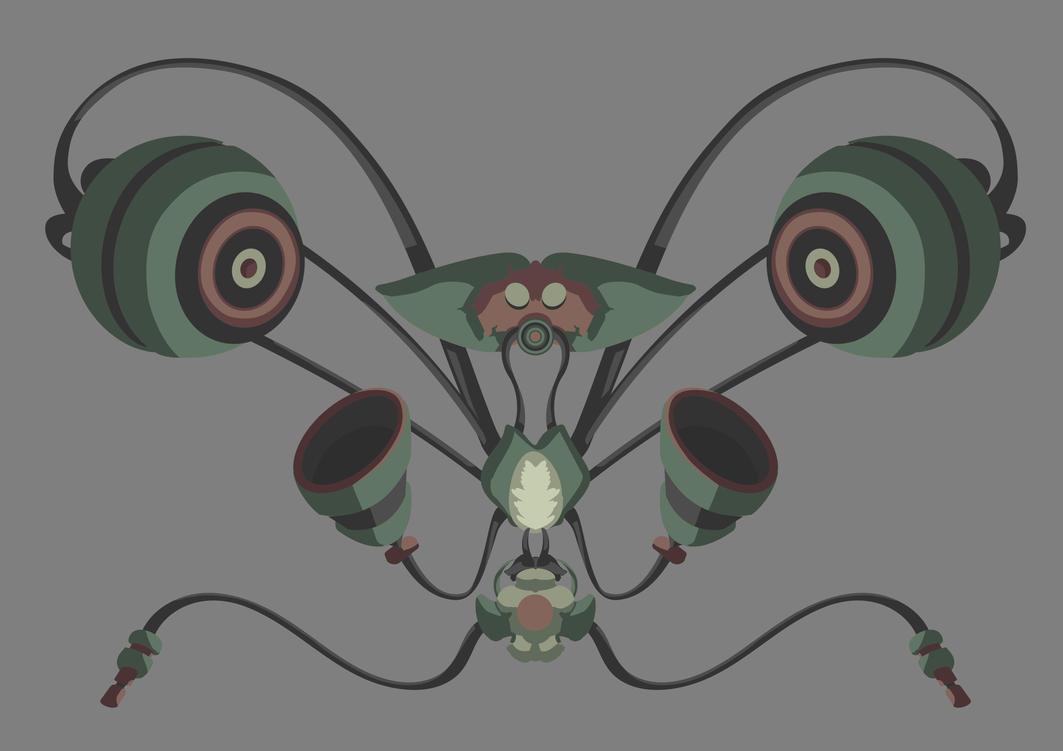 Butterfly Speaker by YouriVDE