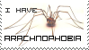 Arachnophobia Stamp by MoUnTaInDeWmE