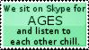 We Sit On Skype by MoUnTaInDeWmE