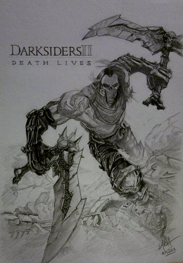 Darksiders 2 Death Fan Art by c-r-o-f-t