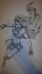 Michael Turner's SuperGirl