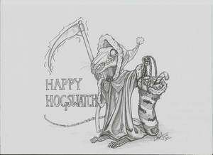 Happy Hogswatch - The Death of Rats/Grim Squeaker